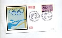 Lettre Fdc 1972  Jeu Olympique Tir - FDC