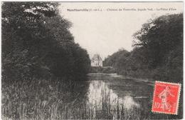 CPA DE MONTHARVILLE  (EURE & LOIR)   CHÂTEAU DE VRAINVILLE - LA PIECE D'EAU - Autres Communes