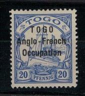 TOGO       N°  YVERT  :   35   NEUF AVEC  CHARNIERES      (  CH  01/43 ) - Togo (1914-1960)