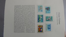 D31 Très Bel Album Nations Unies De Vienne De 1979 à 1999 (N° 1 à 295** Quasi Complet)  Côte Environ 1300 Euros !!! - Timbres
