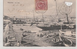 Cartolina - Palermo - La Cala - Palermo