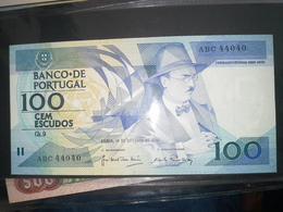 100 Escudos 1986   UNC - Portugal