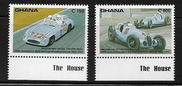 GHANA : MERCEDES 300 SLR , MERCEDES 1937 GP MONACO - Automobilismo