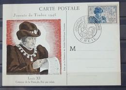 03 - 20 // France -  Louis XI - Journée Du Timbre De 1945 - Oblitération Creil - Cote : 35 Euros - France