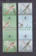 Aland Finland 2012  Dragonflies Gutter Pair MNH ** - Aland