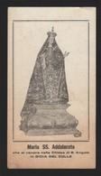 625 Santino Antico Madonna Addolorata Da Gioia Del Colle - Bari - Religione & Esoterismo