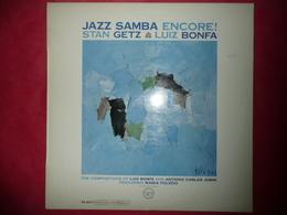 LP33 N°3022 - STAN GETZ - LUIS BONFA - JAZZ SAMBA ENCORE ! - V6-8523 - DISQUE 180 GR. - Jazz