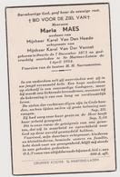 Maes Deurle St Martens Latem Van Den Heede Van Der Vennet - Images Religieuses