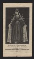 626 Santino Antico Madonna Addolorata Da Mogliano - Macerata - Religione & Esoterismo