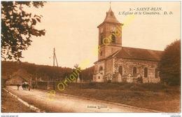52.  SAINT BLIN .  L'église Et Le Cimetière . - Sonstige Gemeinden