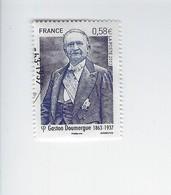Personnalité Gaston Doumergue 4793 Oblitéré 2013 - Gebruikt