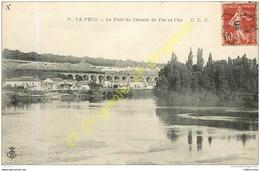 78. LE PECQ .  Le Pont Du Chemin De Fer Et L'Ile . - Le Pecq