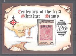 Gibraltar  Michel #  Block 9 ** - Gibraltar