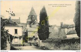 53.  SAINT DENIS D'ANJOU .  Rue De La Petite Roche . - France