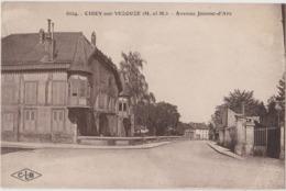 CIREY Sur VEZOUZE (54) CPA - Avenue Jeanne-d'Arc - Cirey Sur Vezouze