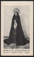 628 Santino Antico Madonna Addolorata Da Triggiano - Bari - Religione & Esoterismo