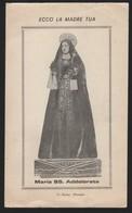 630 Santino Antico Madonna Addolorata Da Monopoli - Bari - Religione & Esoterismo