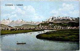 LJUBLJANA - Laibach STEINER - ALPEN(pli Coin Gauche) - Slovénie