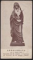 631 Santino Antico Madonna Addolorata Da Napoli - Religione & Esoterismo