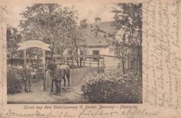 Gruss Aus Dem Etablissement C. Reuter, Bahnhof - Pöpelwitz (Breslau, Niederschlesien) - Popowice, Wroclaw. - Pologne
