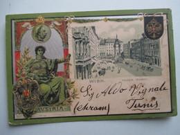 WIEN  -   AUSTRIA    (   TYPE   GRUSS  AUS  .....)         GAUFFRE    TTB - Vienna