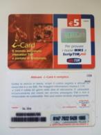 Tim - Servizi - I-card 5 € - Italien