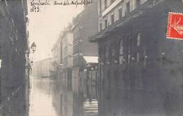 Carte-Photo Inondations De 1910 - Besancon
