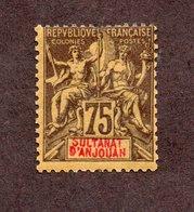 Anjouan N°12  N* TB  Cote 45 Euros !!! - Neufs