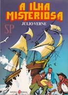 Portugal 1983 BD A Ilha Misteriosa Júlio Verne L'île Mystérieuse Jules The Mysterious Island Die Geheimnisvolle Insel - Livres, BD, Revues