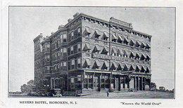 Meyers Hotel - Hoboken N. 1 -Known The WorldOver      (118528) - Etats-Unis