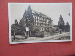Switzerland > LU Lucerne  Luzern Hotel Europe RPPC  Has Stamp & Cancel >ref 3951 - LU Lucerne