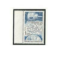 Variété Signée Calves - Y&T N° 2292b - Météo National - Bleu Foncé Omis - Kuriositäten: 1980-89 Ungebraucht