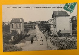 12130 - Fontenay-sous-Bois Rue Beauséjour - Fontenay Sous Bois