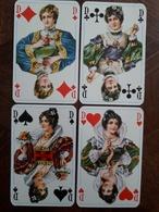 Speelkaarten : 4 Dames | Jeu De Cartes : 4 Dames - Kartenspiele (traditionell)