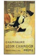 Repro Affiche Champagne Léon CHANDON Style Art Nouveau CPM Clouet 10337 - Publicidad