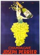 Repro Affiche Champagne Joseph PERRIER Par Stall CPM Clouet 10747 - Publicidad