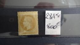 D33  France N° 28A ** Côte 800 Euros + Petit Stock Oblitéré De France. A Saisir  !!! - Briefmarken