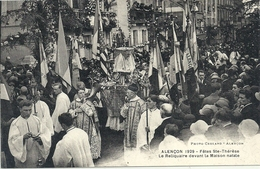 2020 - 03 - ORNE - 61 -ALENCON - 1929 - Fête De Ste Thérèse - Le Reliquaire - Top Animation - Alencon