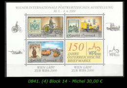 Österreich - Mi. Nr. Block 14 In Postfrisch - Blocs & Hojas