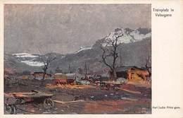 Trainplatz In Valsugana. Kriegshilfsbüro Nr. 408. / WWI Austro-Hungarian K.u.K. Military, CAMP~WW1 POSTCARD 44787 - Weltkrieg 1914-18