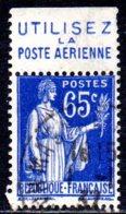 France, Type Paix YT365b. Bande Publicité Utilisez La Poste Aérienne - 1932-39 Paix