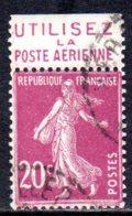 France, Type Semeuse Camée YT190d. Publicité Utilisez La Poste Aérienne - 1906-38 Semeuse Camée