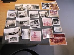 22 PHOTOS VOITURES - EPOQUES DIVERSES - VOIR SCANS - Automobili