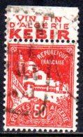 1926 Algérie, Mosquée De La Pécherie, Publictié Vin - Used Stamps