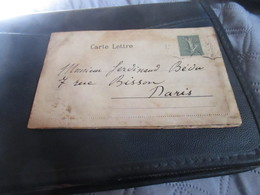 Rare Carte  Double à Système Bouquet De Roses Verso Pub Hotel Timbre Semeuse 15c Type ?convoyeur - Cartoline Con Meccanismi