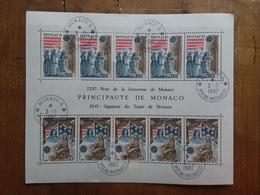 MONACO - Europa 1982 - BF Annullo 1° Giorno + Spese Postali - Monaco