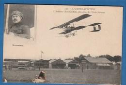597 ETAMPES AVIATION L'AVIATEUR ROUGERIE, DIRECTEUR DE L'ECOLE FARMAN - Piloten
