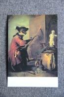 Art,CHARDIN Jean Baptiste : Le Singe Peintre ( PARIS : Musée Du LOUVRE ). - Animales Vestidos