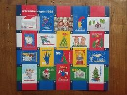 OLANDA - Foglietto Natale 1999 Autoadesivi + Spese Postali - Periodo 1980 - ... (Beatrix)