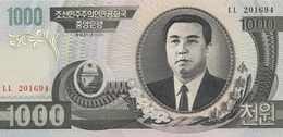 North Korea P.45a 1000 Won 2002 Unc - Korea, North